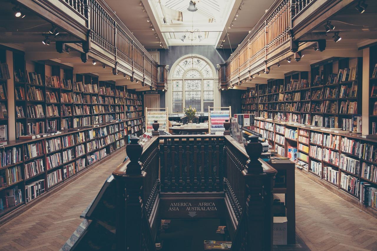 図書館 階段