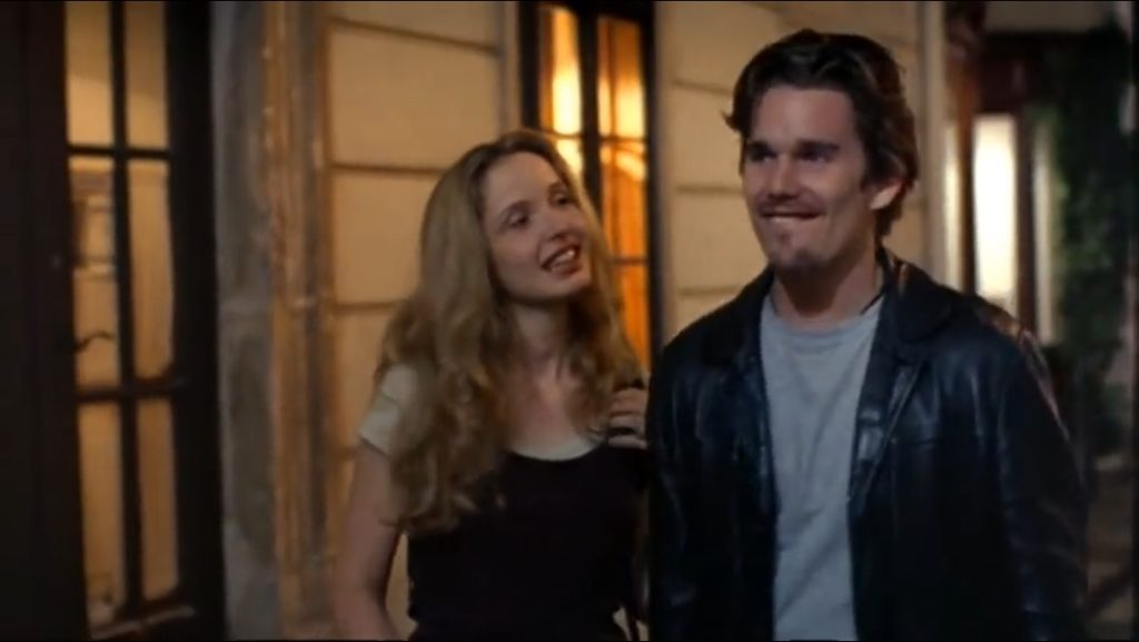 before sunrise デートシーン