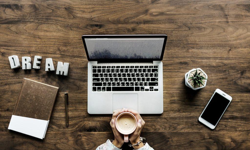 コーヒー ノートパソコン