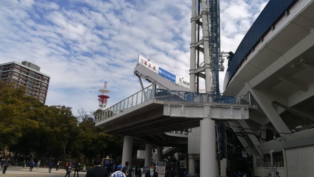 横浜スタジアム ウイング席 外観