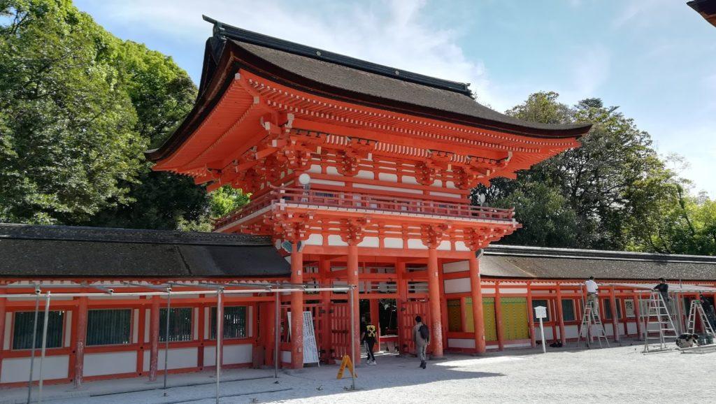 下鴨神社 門