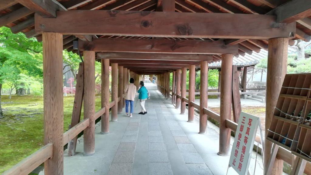 東福寺 通天橋内部